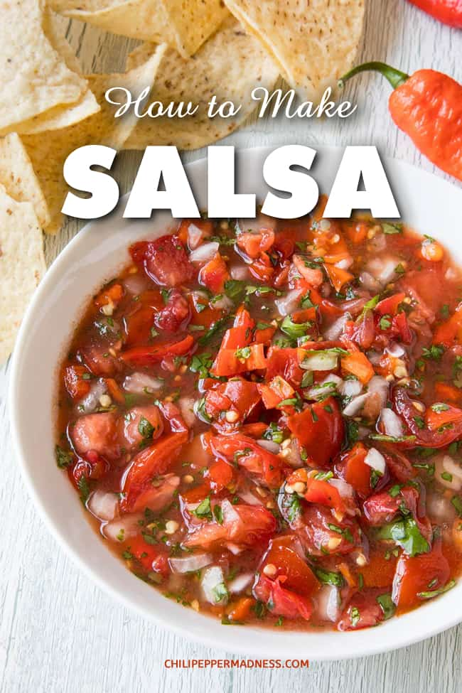 How to Make Salsa – a Guide