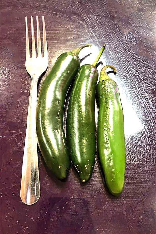NuMex CaJohns Serrano Chili Pepper