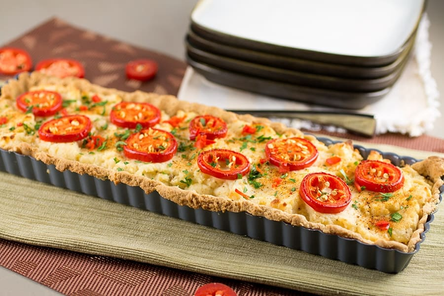 Savory Baked Cheese Tarts - Baked and Ready to Serve