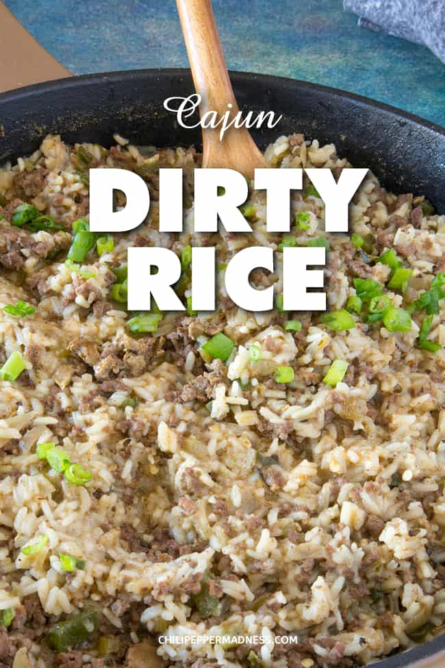 Dirty Rice - This dirty rice recipe is classic Cajun cuisine, essentially white rice that gets