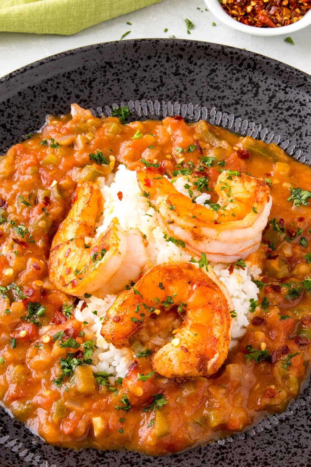 Shrimp Etouffee Chili Pepper Madness