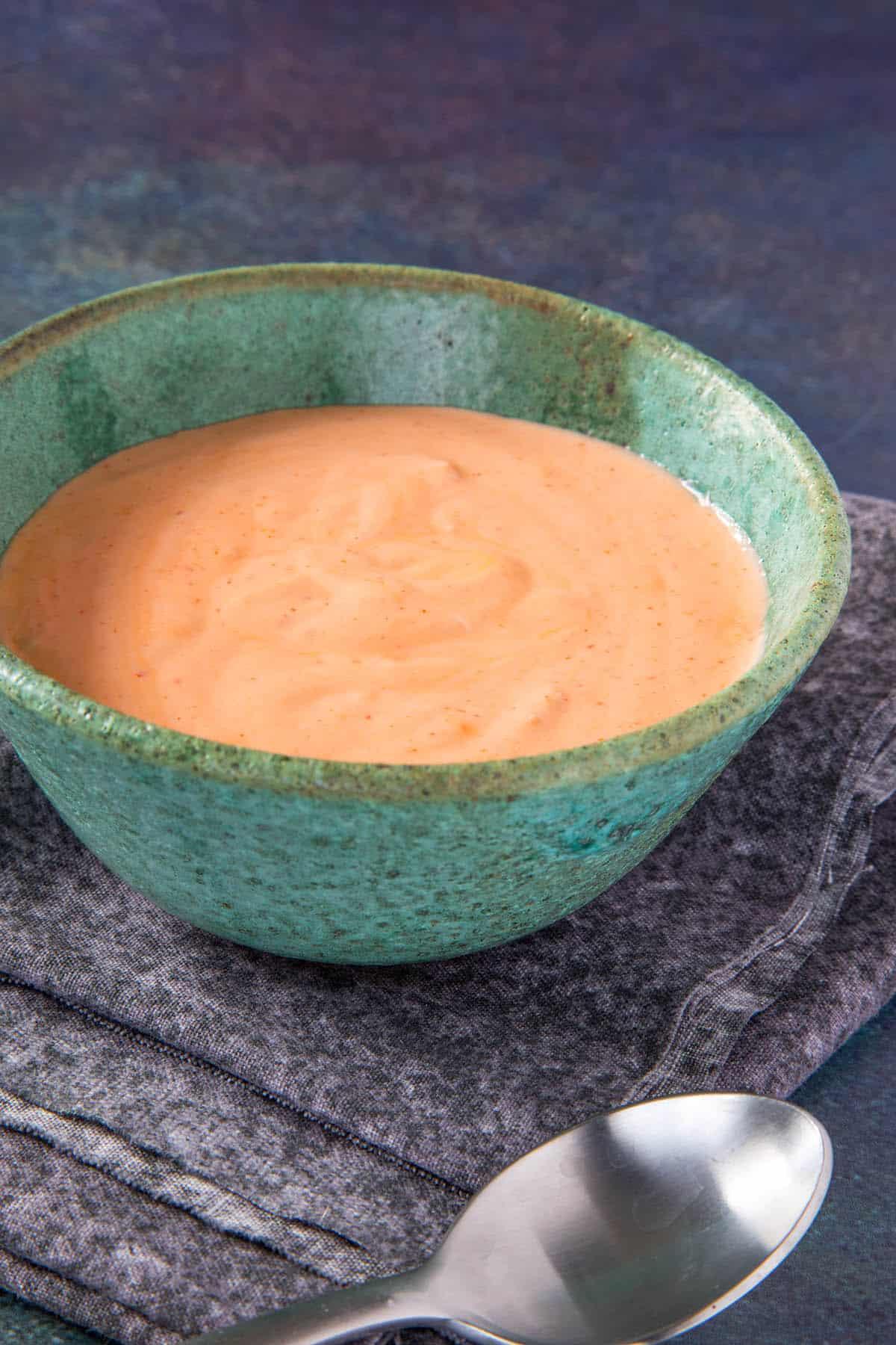 Sriracha Mayo, ready to serve
