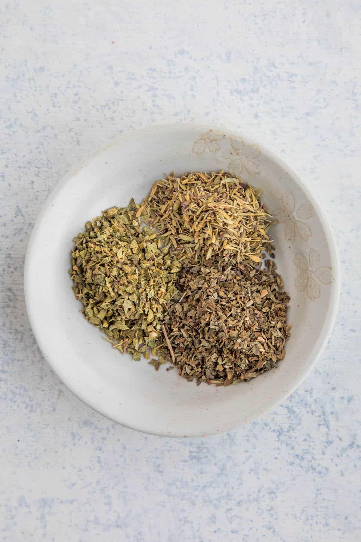 The herbs in my Homemade Blackening Seasoning recipe