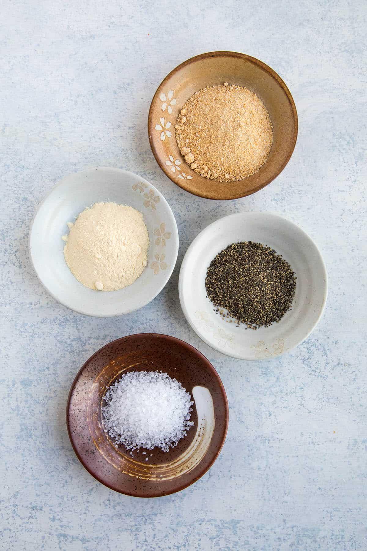 The spices in my Homemade Blackening Seasoning recipe