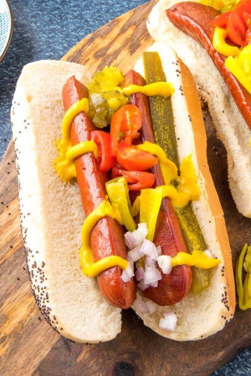 Chicago Style Hot Dog Recipe