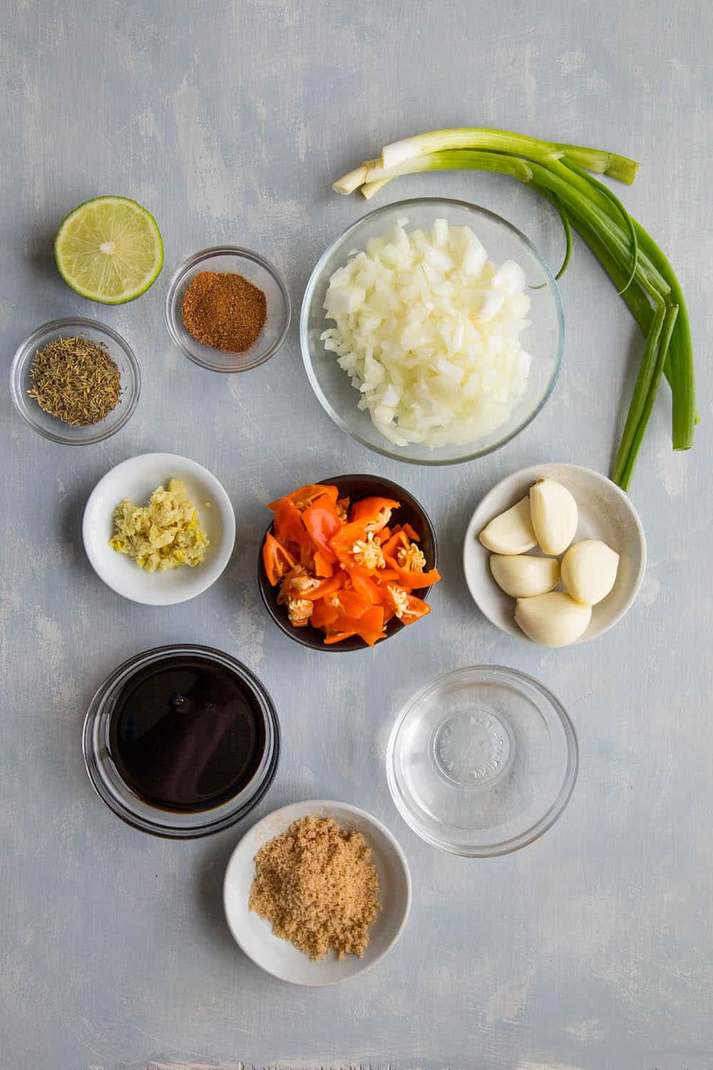 Jamaican Jerk Sauce ingredients