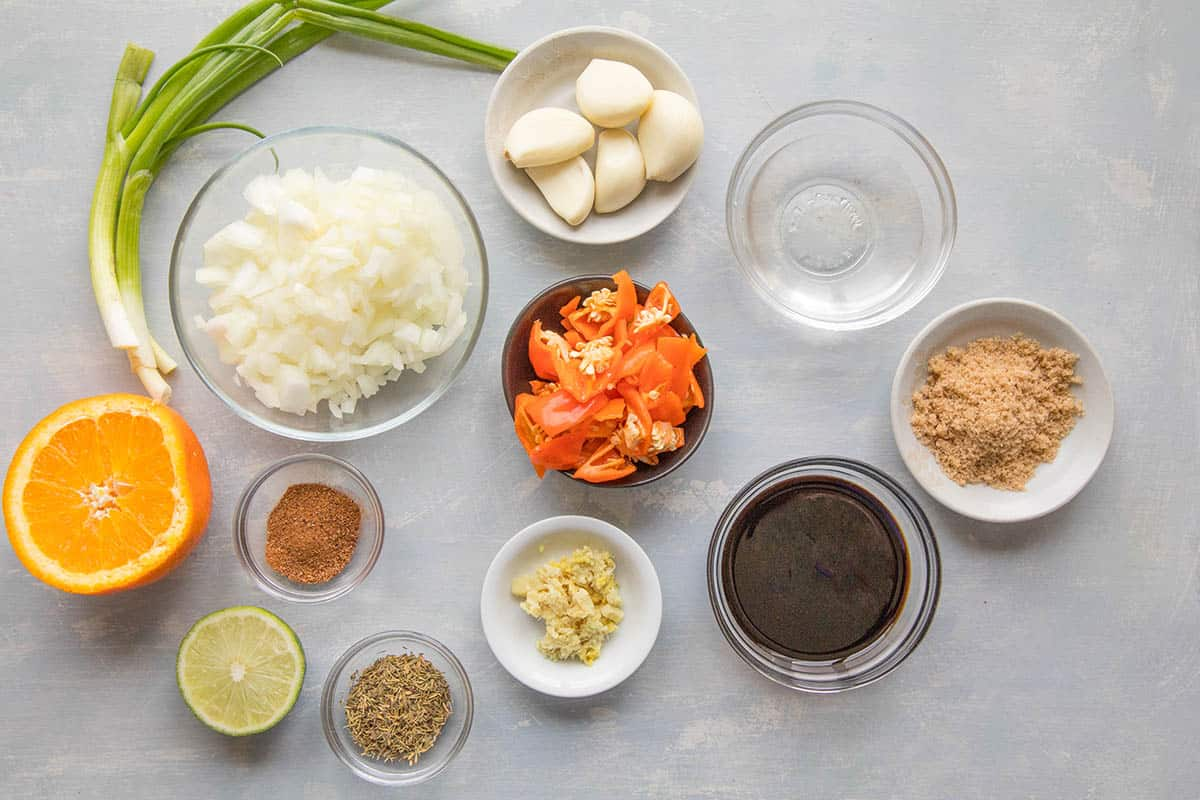 Jerk Marinade Ingredients