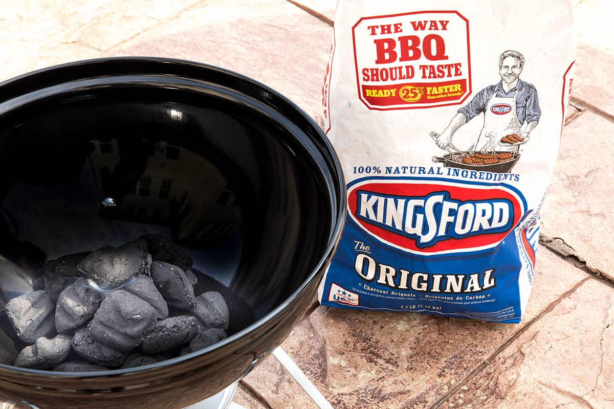 Kingsford Charcoal next to my grill