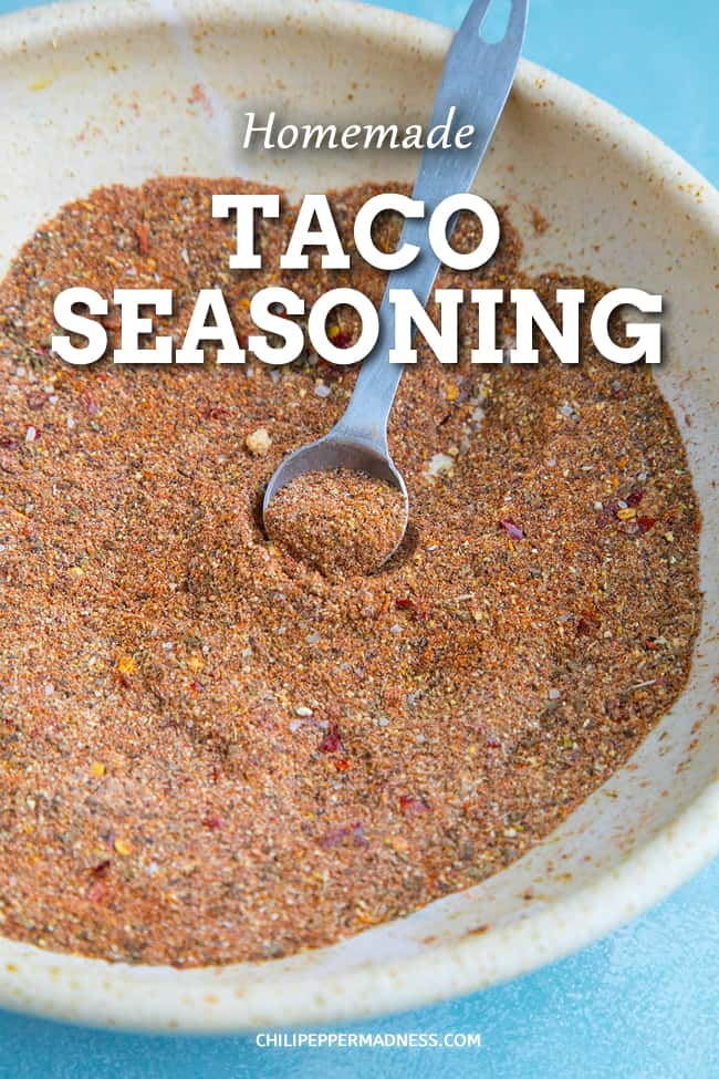 Homemade Taco Seasoning - Learn how to make homemade taco seasoning mix at home with your own herbs, spices and blends. The recipe possibilities are endless. #Tacos #Seasoning