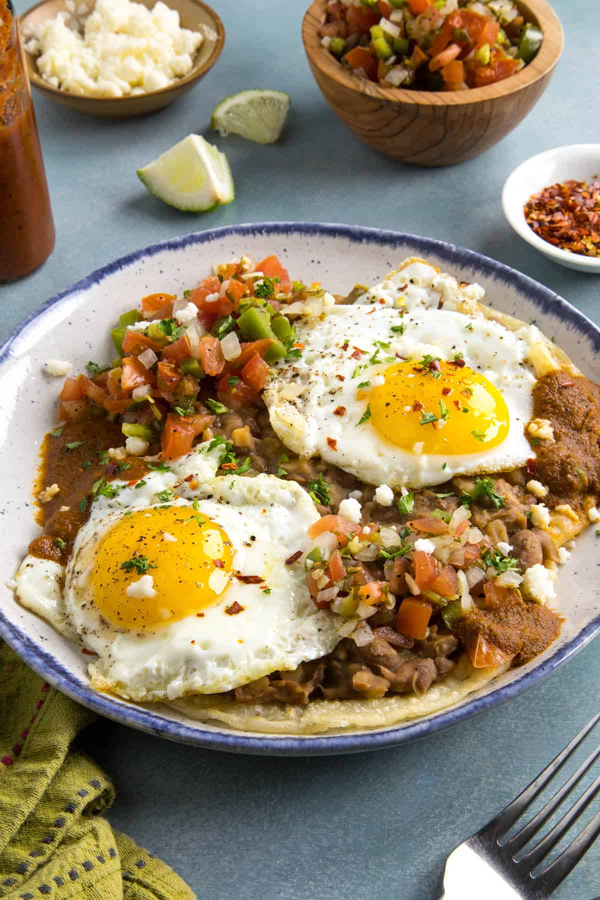 Huevos Rancheros, ready to serve
