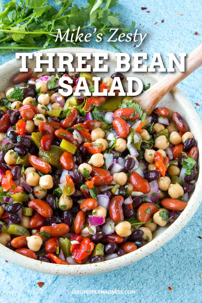 Mike's Zesty Three Bean Salad