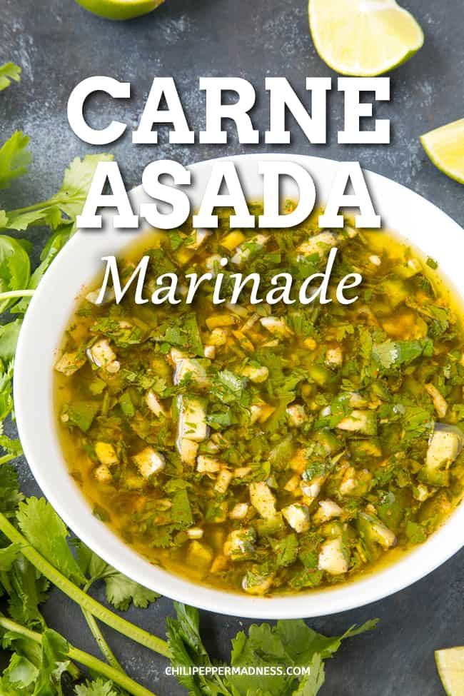 Zesty Carne Asada Marinade - To make the best carne asada, you need a great carne asada marinade recipe. Mine is a perfect blend of seasonings and flavors for the best I\'ve ever had. #MexicanCuisine #Marinade