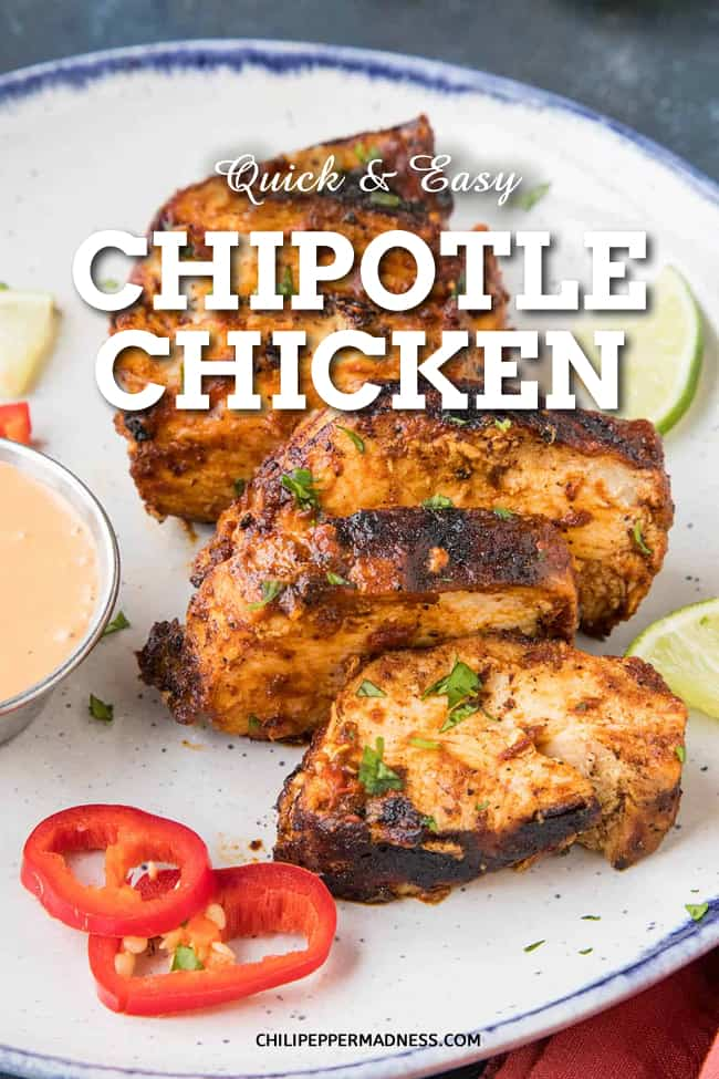 Quick and Easy Chipotle Chicken