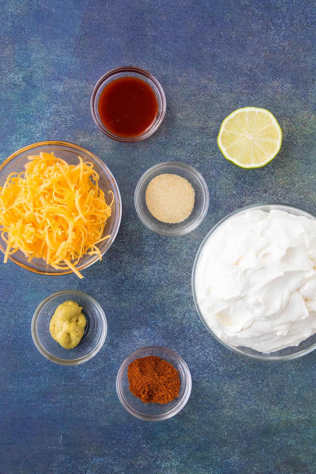 Sour Cream Dip Ingredients