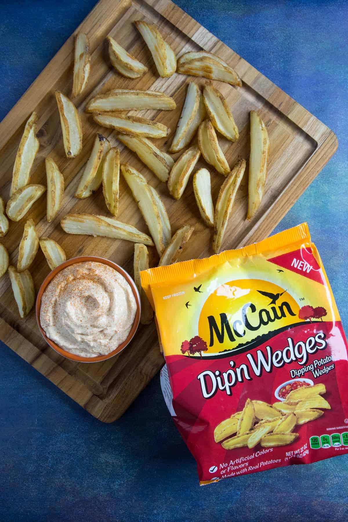 Sour Cream Dip with Dip'n Wedges