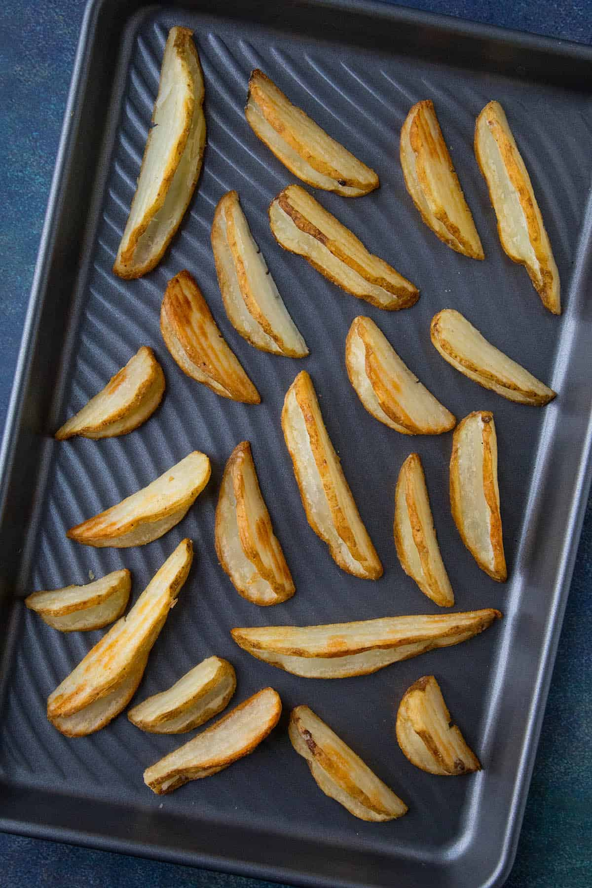 Dip'n Wedges on a Tray