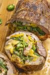 Spinach, Cheese and Chili Stuffed Flank Steak Recipe