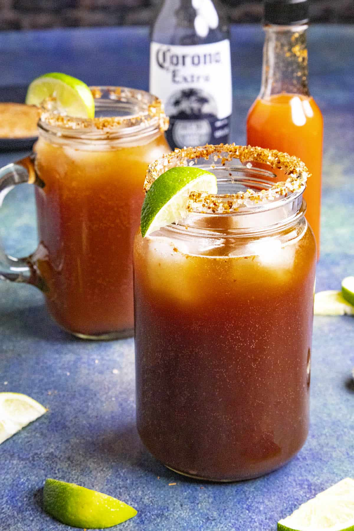 Michelada Recipe – Spicy Mexican Beer and Tomato Juice Cocktail