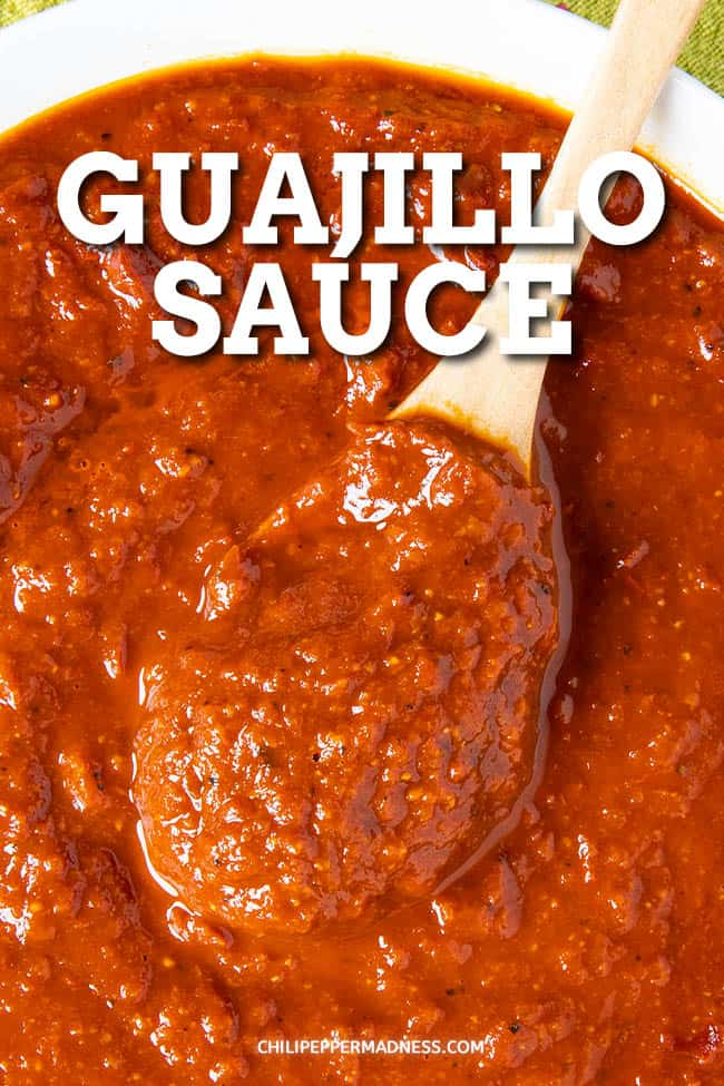 Guajillo Sauce - This homemade guajillo sauce recipe is perfect for any Mexican dishes, from tamales and enchiladas to soups, tacos, meats and more. It\'s so easy to make. #sauce #guajillo #mexicancooking