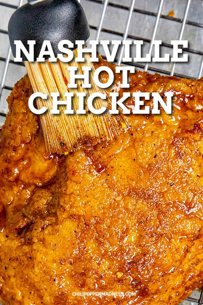 Nashville Hot Chicken Recipe - This Nashville hot chicken recipe makes the best spicy, crispy fried chicken known for its wonderful heat. Plus, I'll show you how to make it extra spicy!#friedchicken #nashvillehot #spicyfood