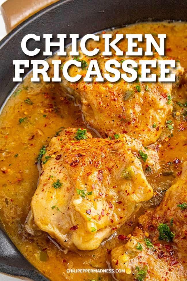 """Chicken fricassee """"data-pin-description ="""" Chicken fricassee"""