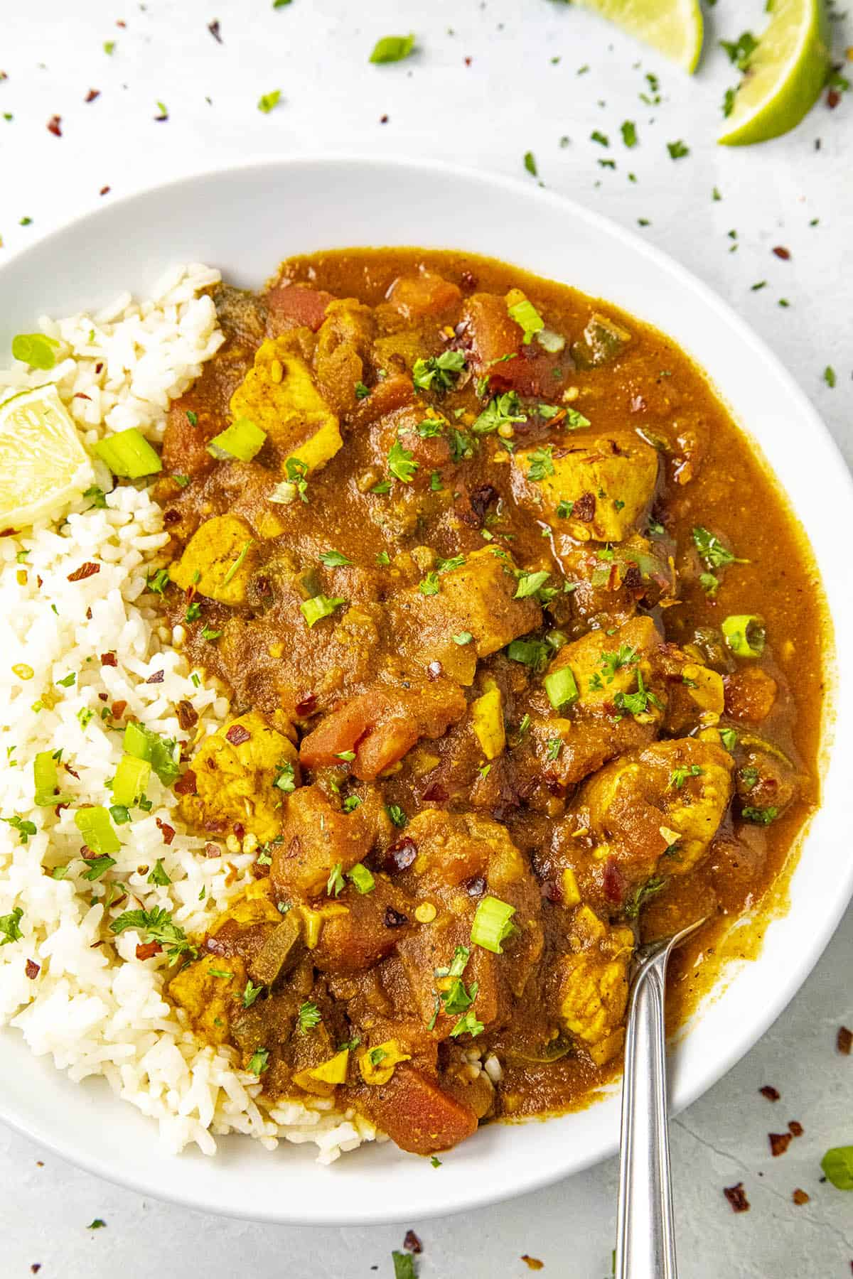 Phall Curry in a bowl