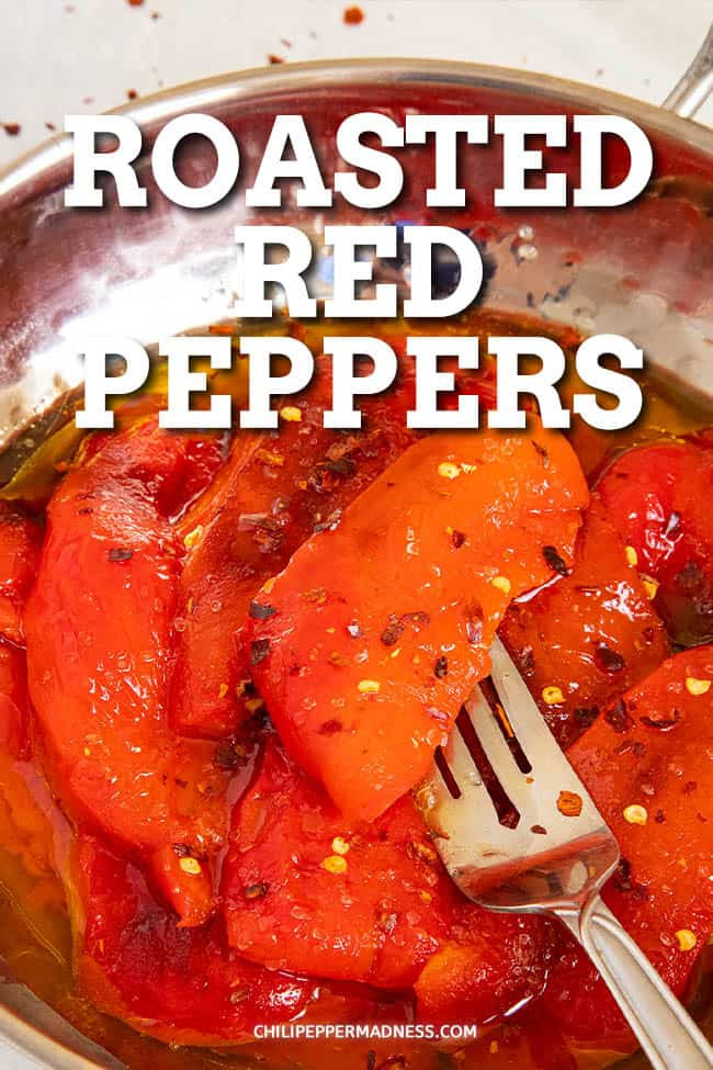 Roasted Red Peppers Recipe - This roasted red peppers recipe will show you how to roast red peppers quickly and easily. They\'re so versatile, great for snacking, soups, dips and so much more.
