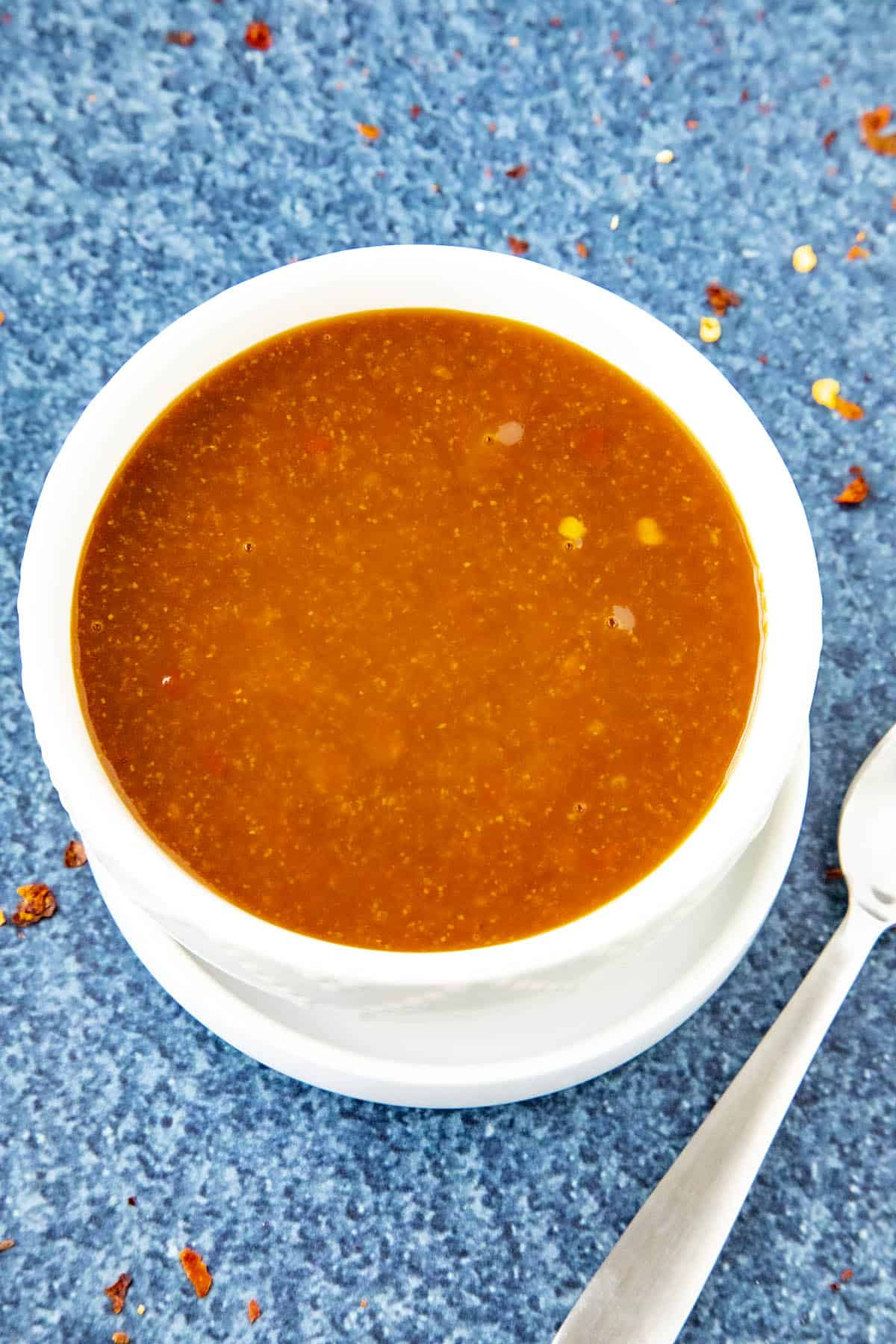 Szechuan Sauce in a bowl