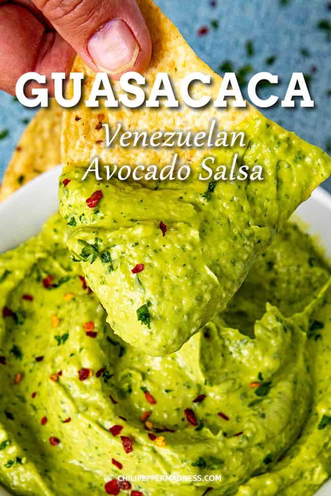 Creamy Guasacaca (Venezuelan Avocado Salsa)