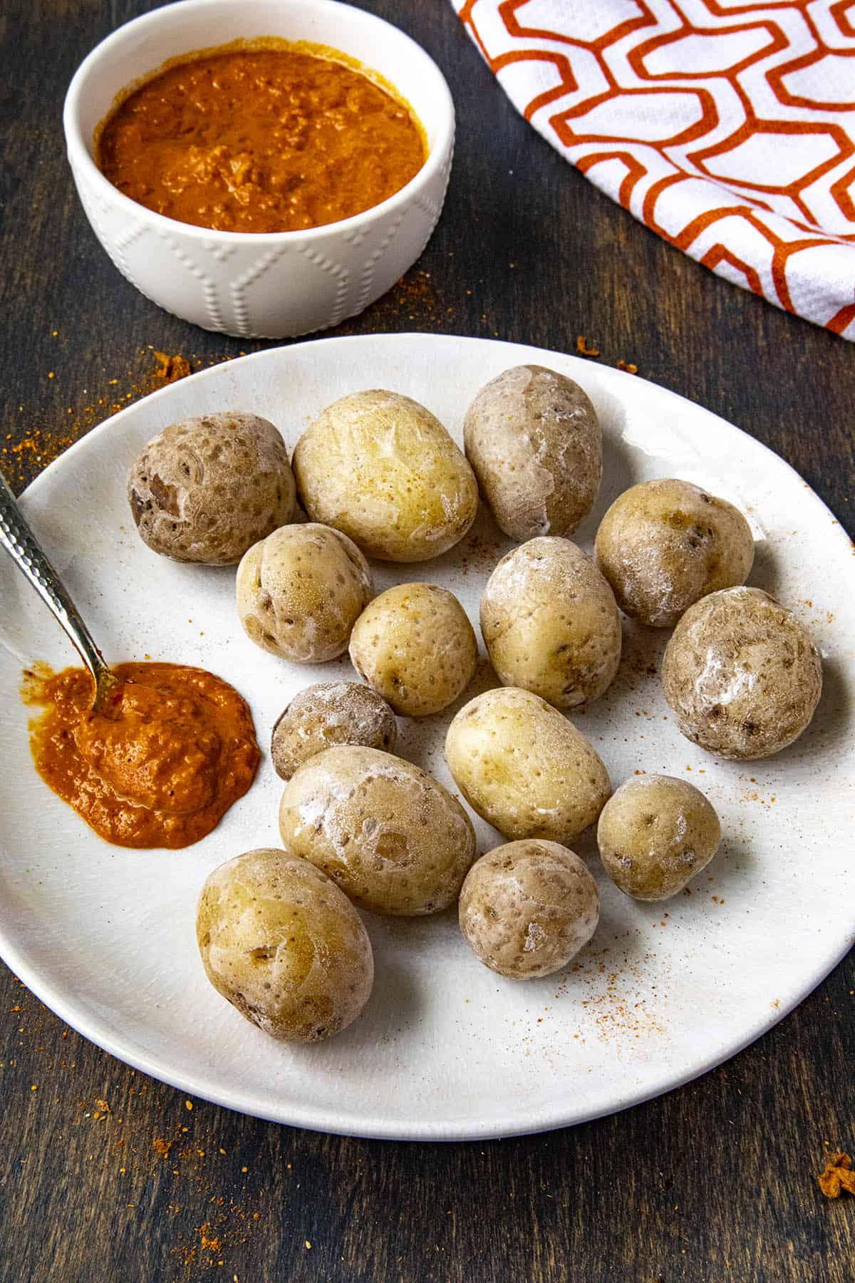 Papas Arrugadas (Wrinkly Potatoes)