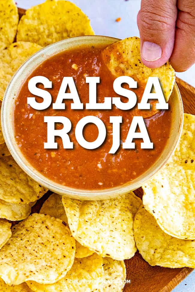 Salsa Roja Recipe - Mexican Red Table Sauce