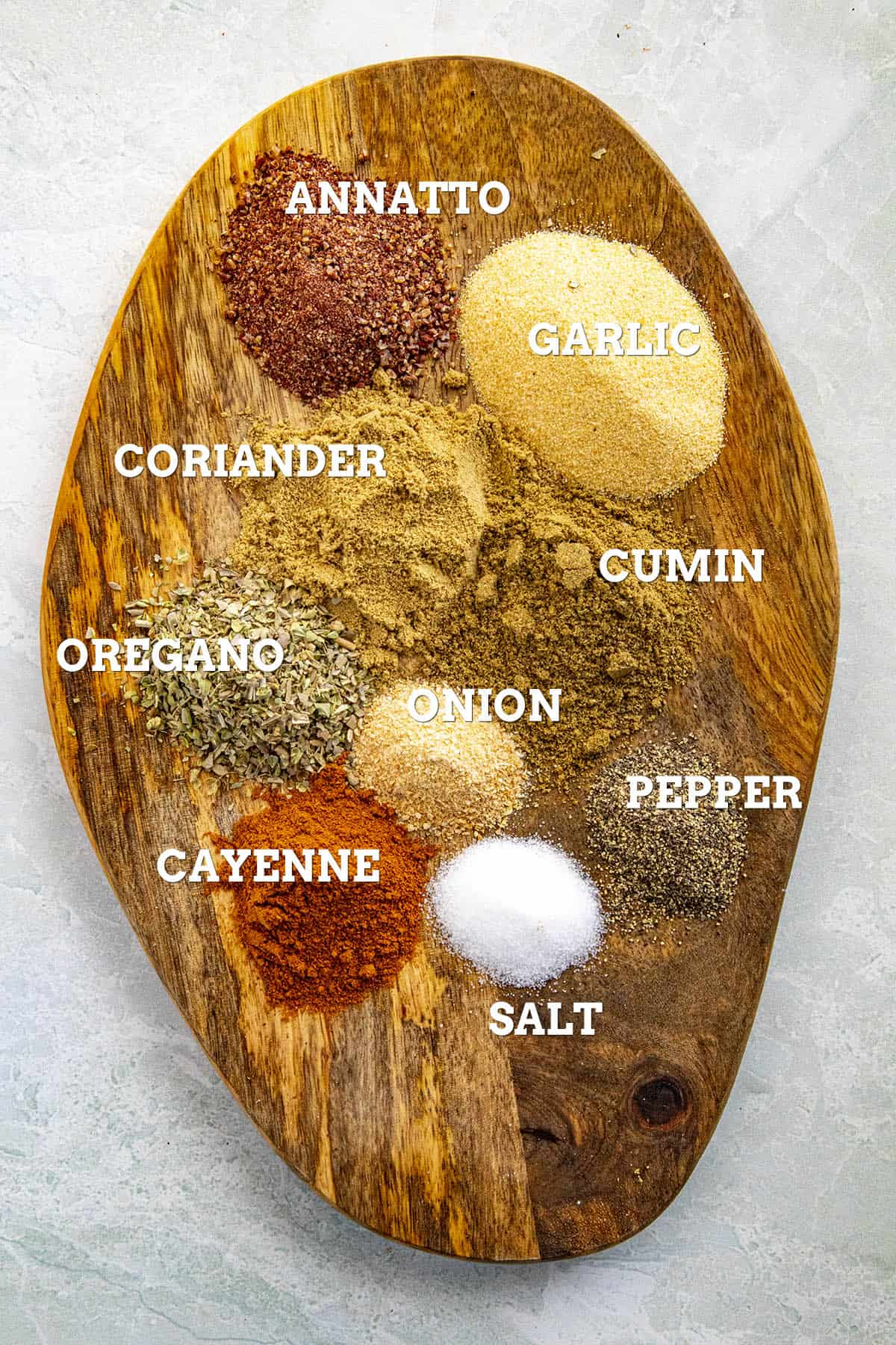 Sazon Seasoning Ingredients