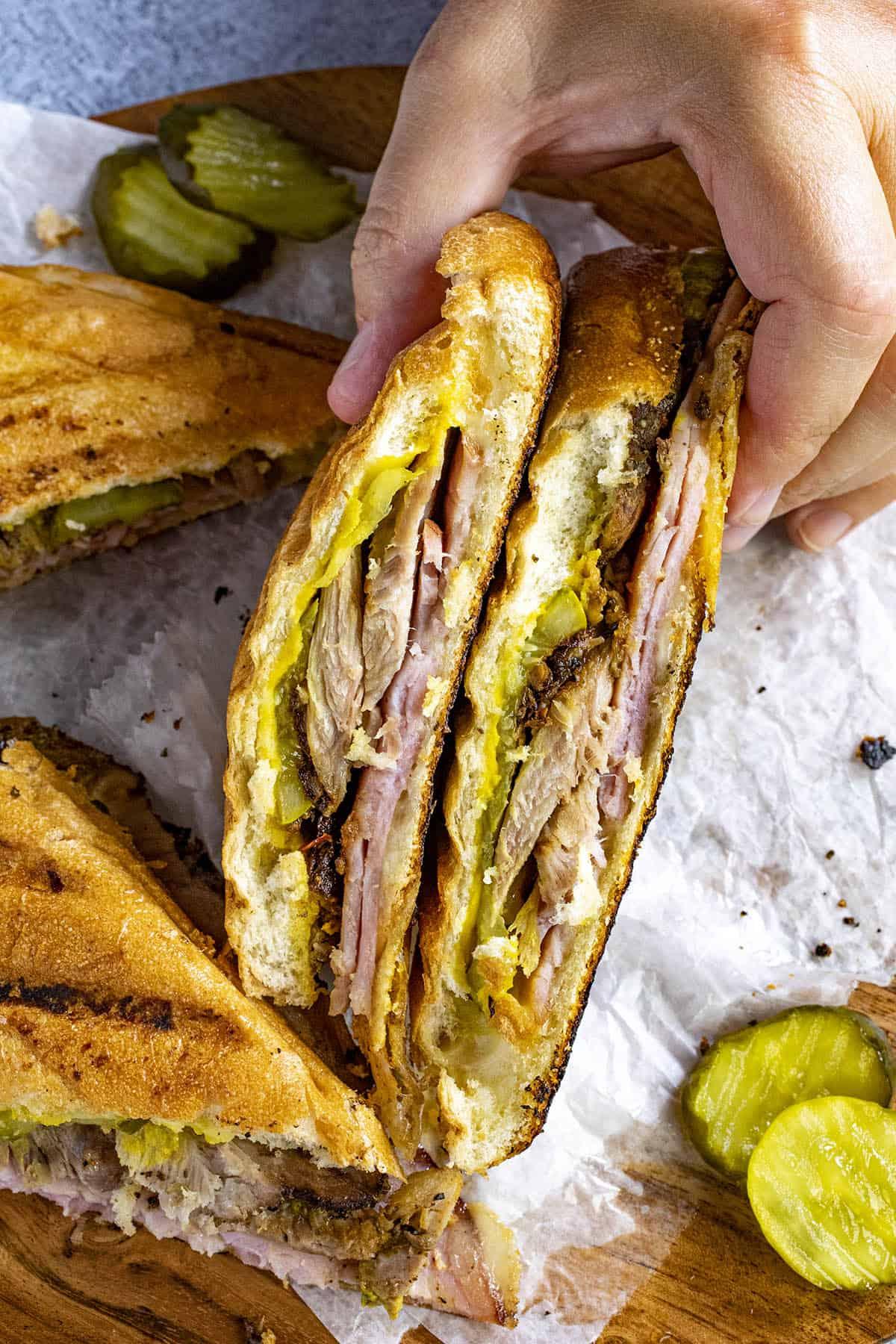 Cuban Sandwich ready to serve