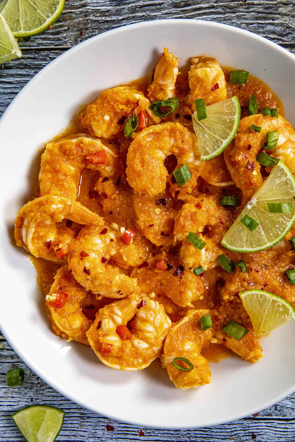 Udang Balado Recipe (Indonesian Spicy Shrimp) in a bowl, ready to serve