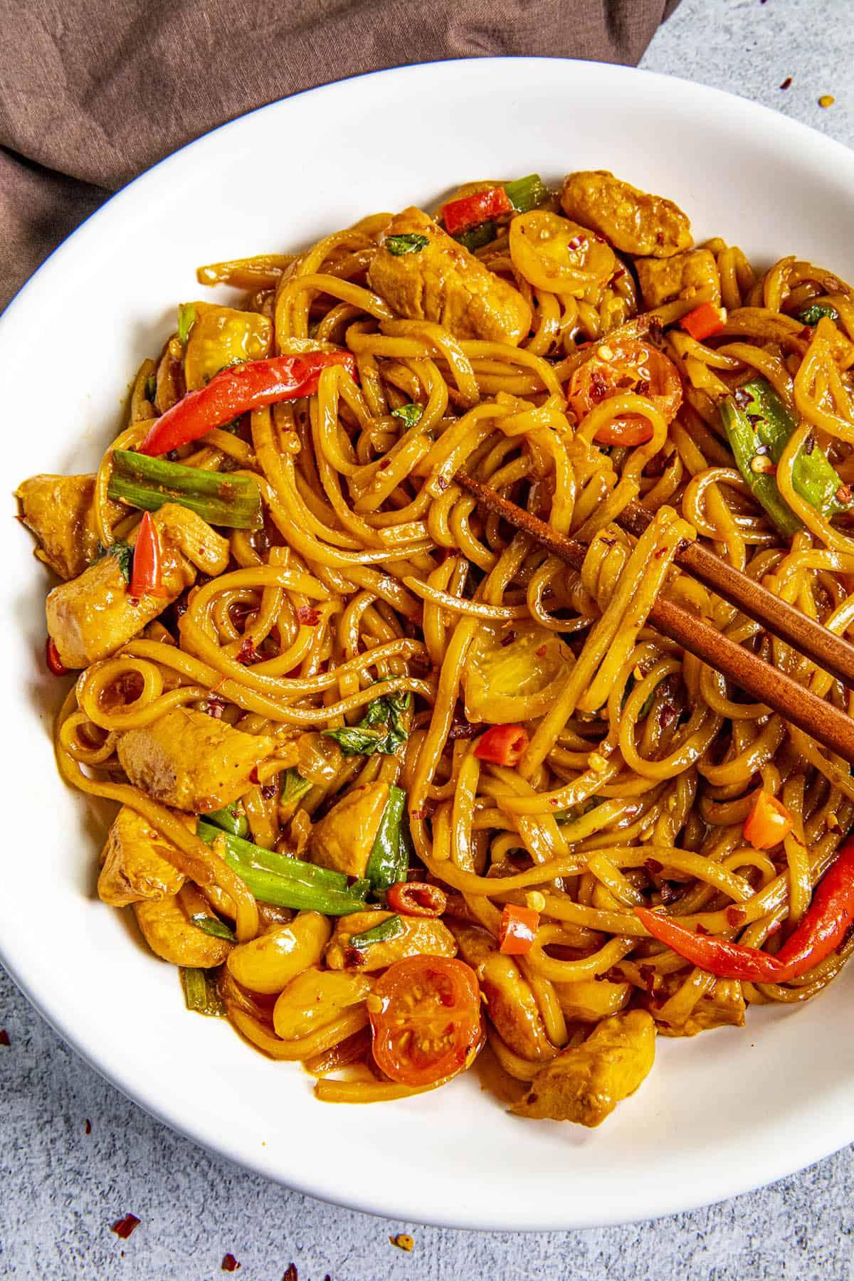 Drunken Noodles Recipe (Pad Kee Mao)