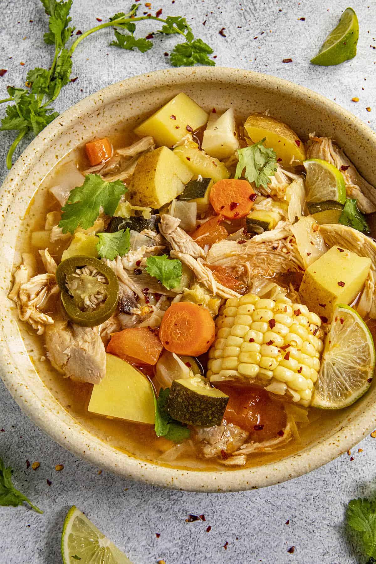 Caldo de Pollo (Mexican Chicken Soup Recipe)