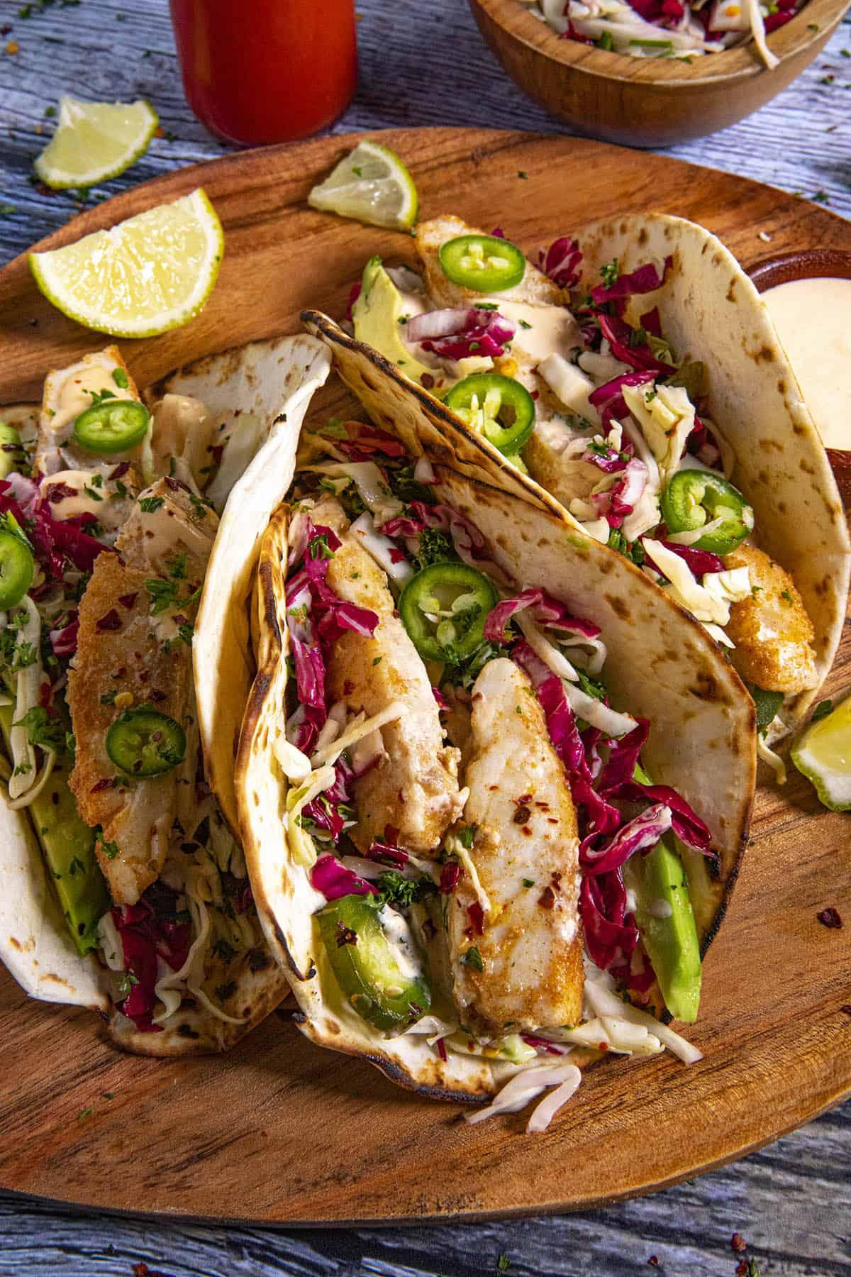 My Favorite Fish Tacos Recipe