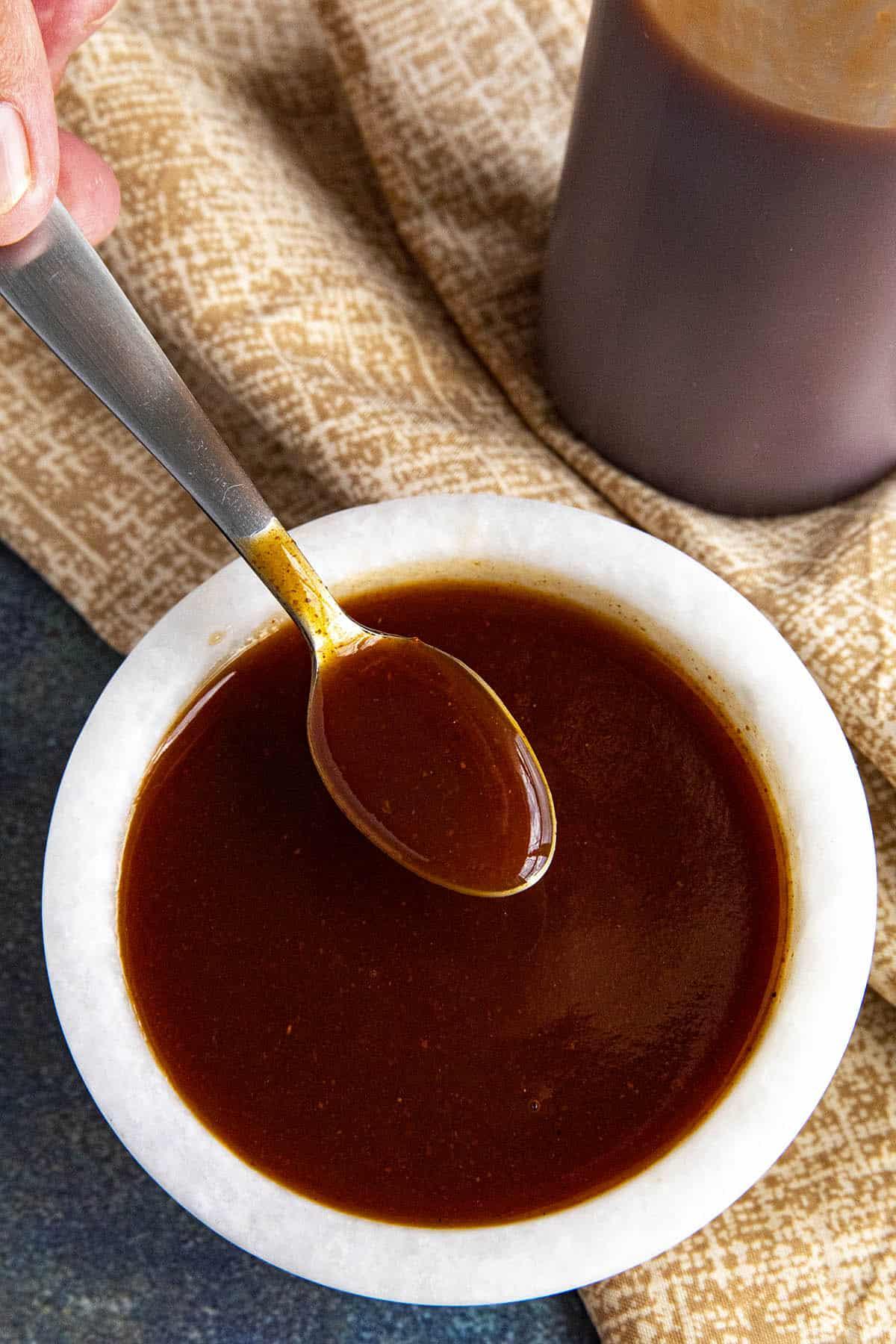 Homemade Mumbo Sauce